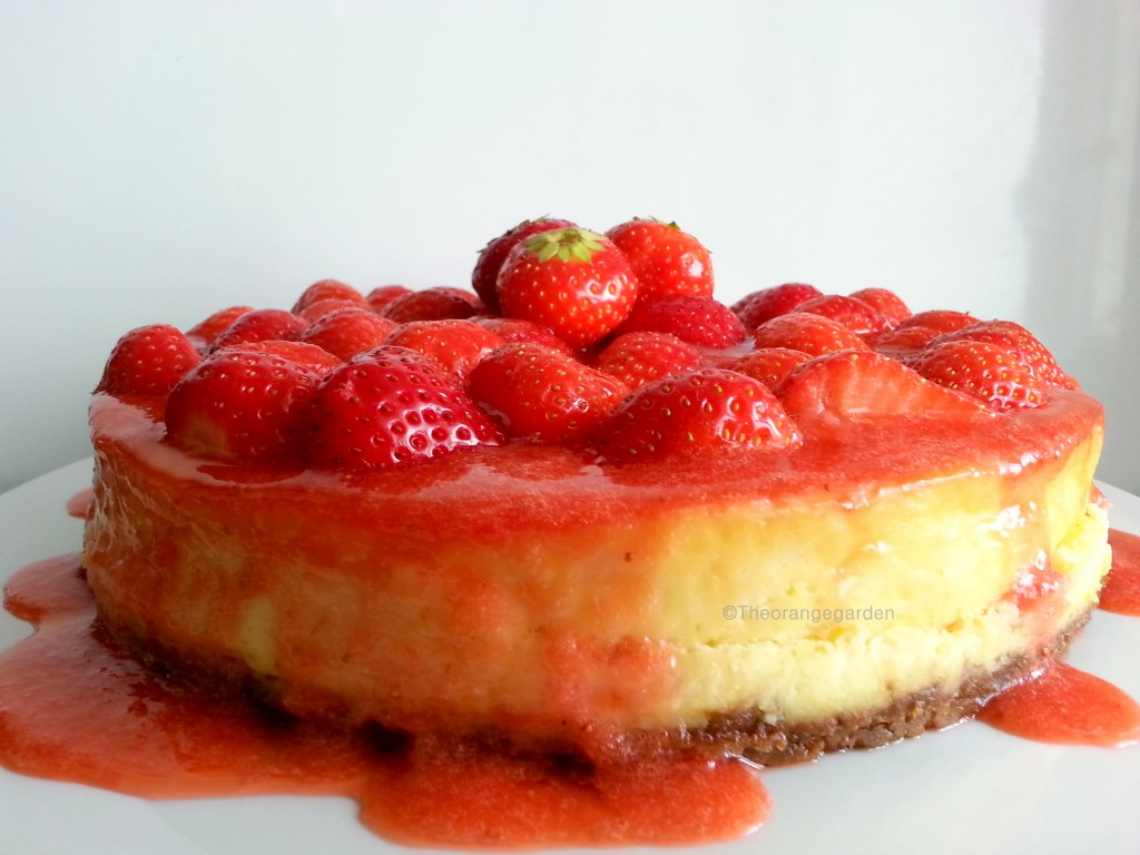 Cheesecake 1- theorangegarden