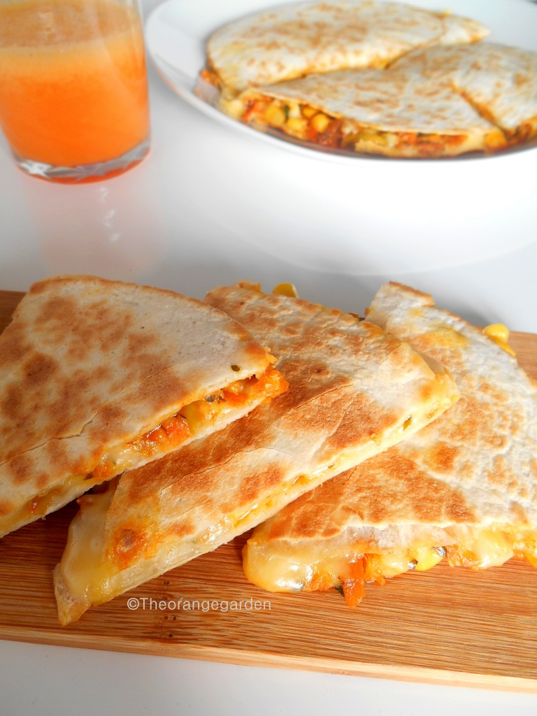 quesadillas 2- theorangegarden
